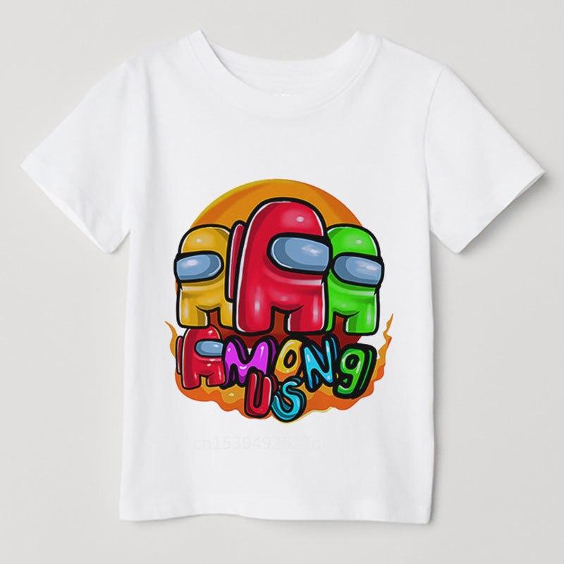 Детская одежда, мультяшная футболка для детей, «оборотенок», «убить мультяшного игрока», «человек», детская одежда из аниме «как футболка»
