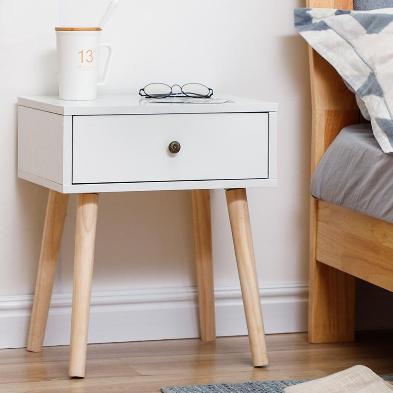 Home Furniture Night Stand Nightstand Drawer Cabinet Bedside Table Bedroom Furniture Nordic White Bedside Table Solid Wood Hwc Flash Sale 6e070 Cicig