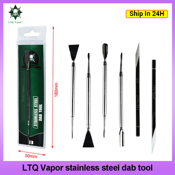 3 Types Dabber Tools Original LTQ Vapor DAB Tool Stainless Steel 143mm Metal Titanium Nail For Wax Vaporizer Dry Herb Accessory