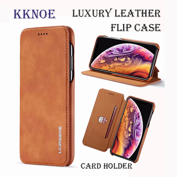 Leather Case for iPhone X XR XS 11 Pro Max Case Card Stand Holder Wallet for iPhone 5S 6 6S 7 8 Plus Case Fundas Flip Back Cover