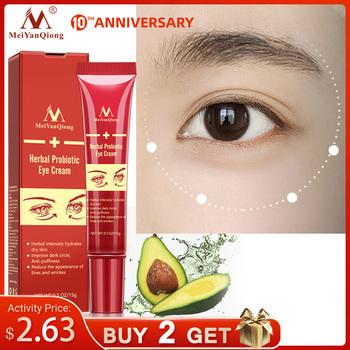 Peptyd kolagenowy krem pod oczy przeciwzmarszczkowy przeciwzmarszczkowy hydrat suche usuwanie skórek ciemne koła pielęgnacja oczu przed obrzękami i torbami tanie i dobre opinie MeiYanQiong Kobiet Anti-aging Anty-obrzęki Nawilżający Herbal Probiotic Eye Cream Chiny GZZZ YGZWBZ 20190731