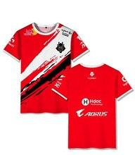 G2 esports camisa uniforme casual g2 escap 2020 lol csgo spieler modo camiseta hohe qualität