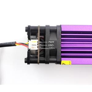 Image 5 - Oxlasers 15ワット青色レーザーモジュール15000mw cnc diy彫刻合板を切断するための固定焦点3Pin 12v pwm