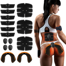 14/15/32/34pcs Body EMS Buttock Abdominal Muscle Trainer ABS Hip Muscle Stimulator Sport Fitness Exercise Home Gym Equipment