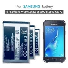 Pour SAMSUNG Batterie AB463651BC AB463651BE AB463651BU Pour Samsung W559 S5620I S5630C C3200 F339 S5296 C3322 GT-C3530 S5610