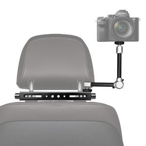 Image 1 - 3in1 ماجيك الذراع الثقيلة سيارة مسند الرأس DSLR عمل كاميرا حامل هواتف ذكية جبل التوسع عدة Vlog تلاعب لكانون نيكون GoPro