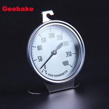 0-400 stopni termometr piekarnik ze stali nierdzewnej specjalne jedzenie grill termometry pomiarowe narzędzia do pieczenia akcesoria kuchenne tanie i dobre opinie Geebake P0165 Piekarnik termometry Gospodarstw domowych termometry Metal Dial