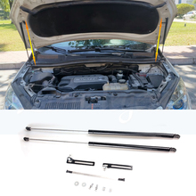 цена на Car Front Hood Supporting Hydraulic rod Lift Strut Spring Shock Bars Bracket For Opel Vauxhall Mokka X Buick Encore 2012-2019