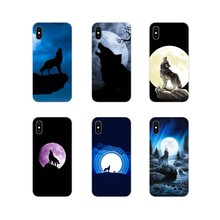 The Wolf Moon Accessories Phone Cases Covers For Samsung Galaxy J1 J2 J3 J4 J5 J6 J7 J8 Plus 2018 Prime 2015 2016 2017(China)