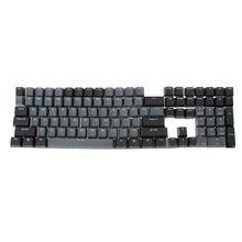 PBT 108 Keycaps OEM ANSI Layout Bi-Color Injection Over Molding Keycaps