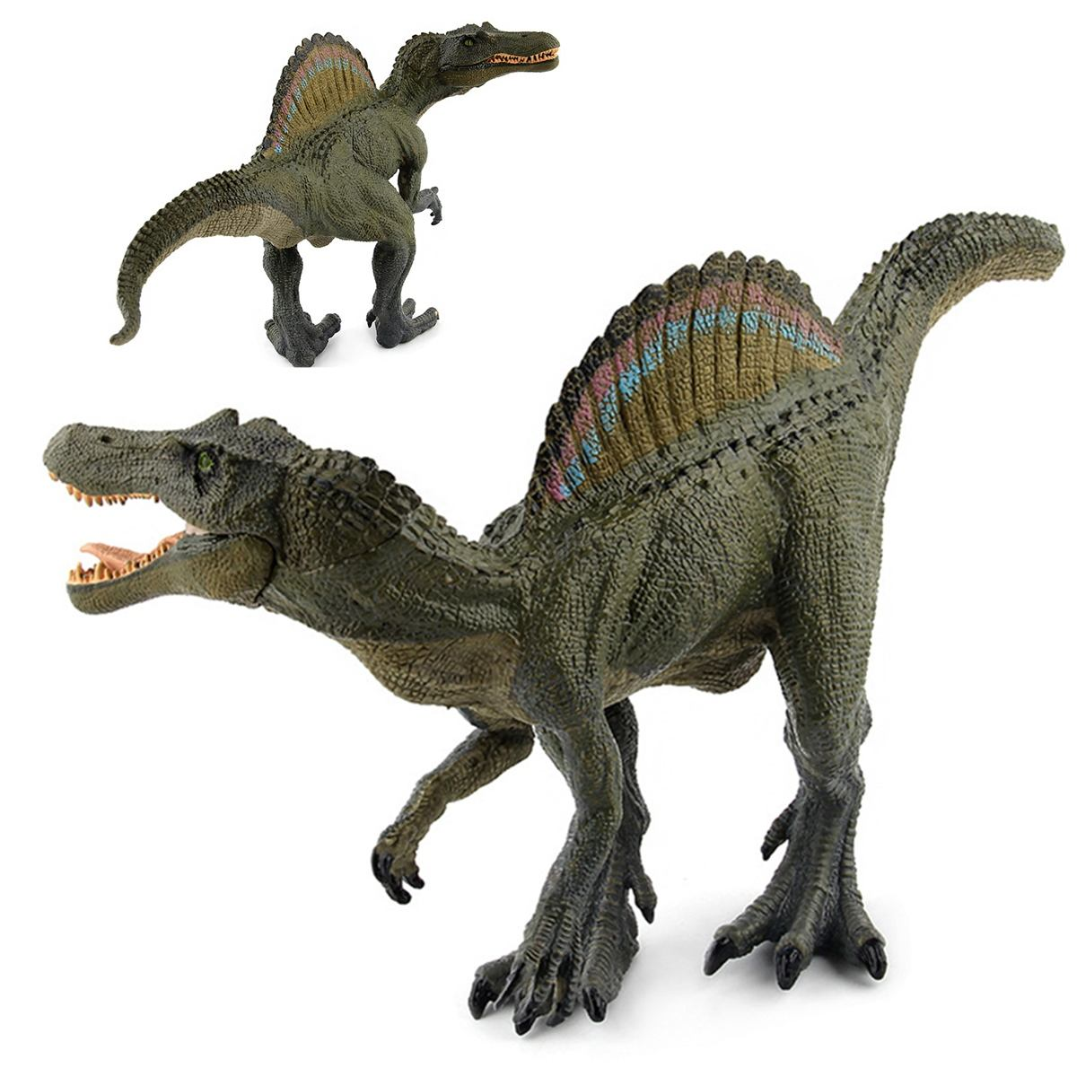 Soft Material Large-size Dinosaur Toys Velociraptor Raptor Plastic Figures