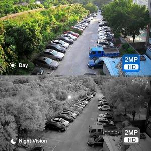 Image 5 - Movols 8CH 1080P AI CCTV 카메라 시스템 IR 야외 비바람에 견디는 보안 카메라 H.265 DVR 키트 야외 비디오 감시 시스템
