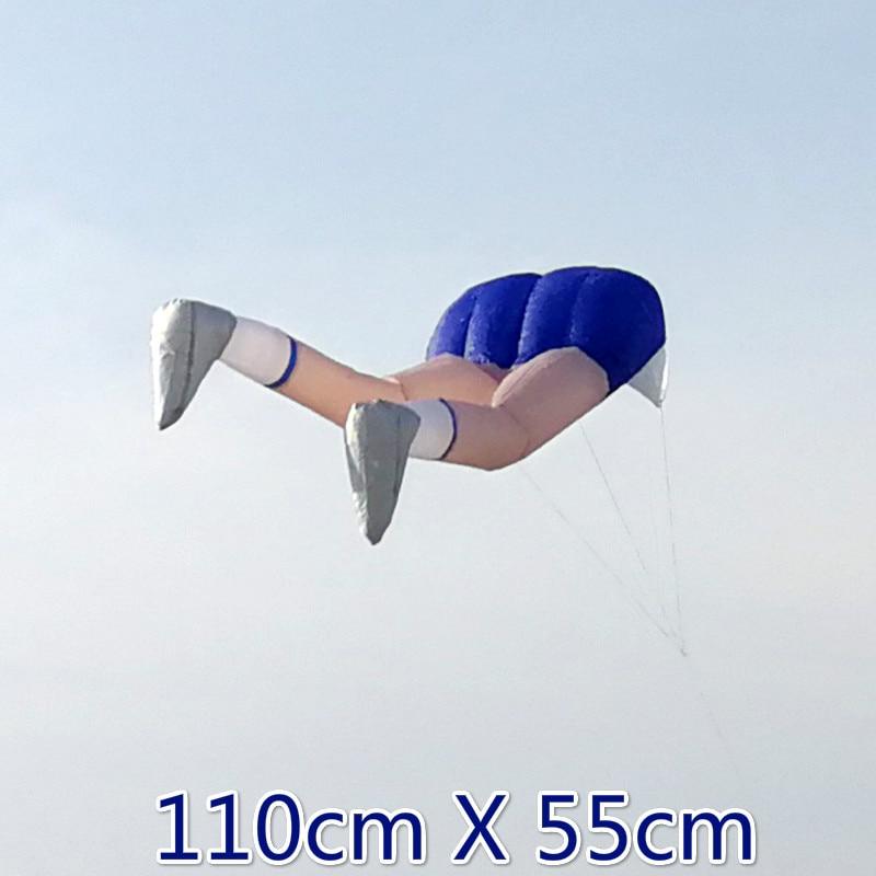 Sports 3D Kite New Soft Inflatable Kite Size 110cm X 55cm Giant Kids Large Kite Flying Huge
