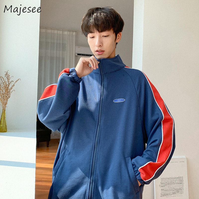 Jacket Men Loose Thicker Warm Winter Clothes Harajuku Trendy High Fashion Mens Jackets And Coats Japanese Streetwear Simple