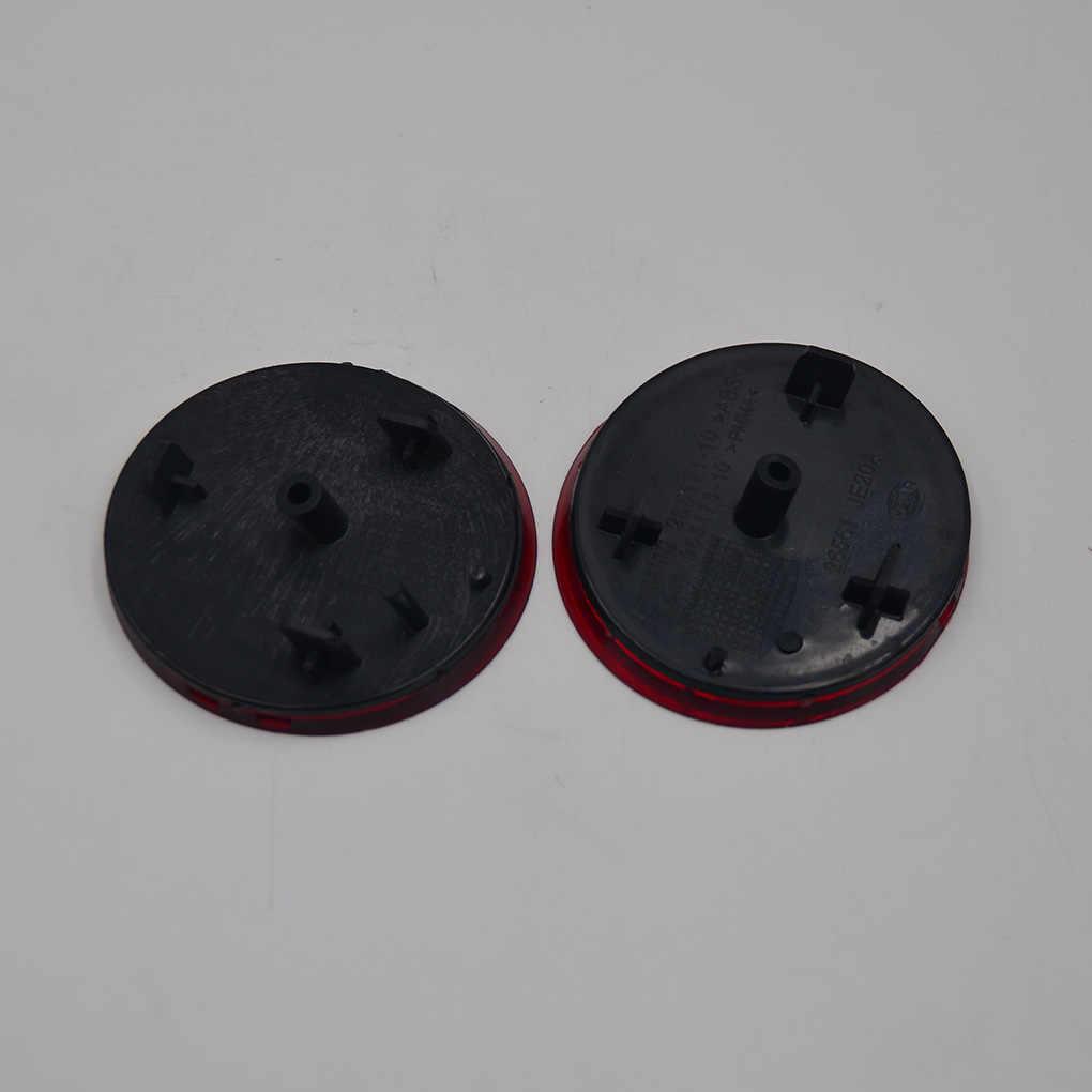 닛산 dualis qashqai j10 2008-2015 용 1 쌍 교체 빨간색 후면 오른쪽 왼쪽 범퍼 반사경