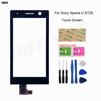 "3.5"" Touch Screen For Sony Ericsson Xperia U ST25 ST25i ST25a Touch Screen Digitizer Front Glass Panel Sensor Assembly Parts"