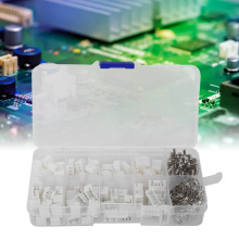 купить 250Pcs Wire Connector Terminal Kits Plastic 2/3/4 Pin Connector For Electronic Equipment With Box в интернет-магазине
