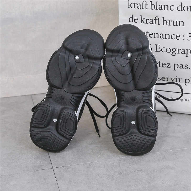 TUINANLE leopar kadın Sneakers nefes örgü gümüş platformu bayan ayakkabıları örgü rahat Glitter payetli tıknaz ayakkabı