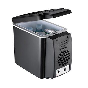6L 12V Car Refrigerator Mini Portable Fridge Compressor Freezer Cooler Ice Box For Picnic Camping Refrigeration And Heating image