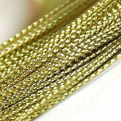 Купить 100 ярдов 1 мм золотистого нейлона нить китайский узел шнур