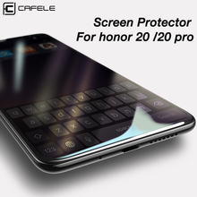 CAFELE Tempered Glass for huawei honor 20 pro 10 9 8 v10 Screen Protector 2.5D Edge HD Clean Protective
