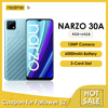 realme Narzo 30A Global Version Smartphone 4GB 64GB Helio G85 6.5 Inch Fullscreen 13MP AI Dual Camera 6000mAh 18W Quick Charge