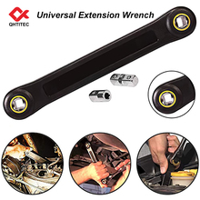 Universal Extension Wrench 3/8 Inch Ratchet Spanners Wrench Set Bicycle Torque Wrenches Tools Kits Mechanical for Car Vehicle