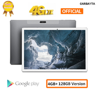 2020 New Tablets PC 10.1 Inch Andriod 8.0 1920*1200 IPS 4G Phone Call 4GB RAM 64GB 128GB ROM Type C GPS Wifi Support PUBG Game