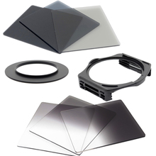 KnightX ND Grad Filter Kit For Cokin P Square Filter Holder for Canon Nikon 49MM 52MM 55MM 58MM 62MM 67MM 72MM 77MM 82MM color