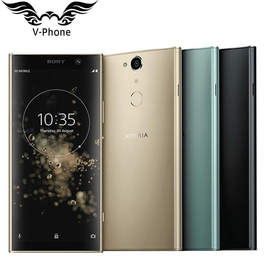 New 6 Inch Sony Xperia XA2 Plus H4493 Dual SIM Mobile Phone 6GB RAM 64GB ROM 3580mAh Snapdragon 630 NFC 23MP 4G Lte SmartPhone