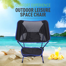 Travel Ultralight Folding Chair Superhard High Load Outdoor Camping Chair Portable Beach Hiking Picnic Seat Fishing Tools Chair cheap Modern Metal Fishing Chair 59*50*64cm Beach Chair i1363 Outdoor Furniture Outdoor folding chair as the picture shows aluminum