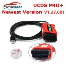 Ucds pro + focom cabo diagnóstico para ford ucdsys com ucds pro + v1.27.001 com 35 tokens licença completa ucds pro ativar completo