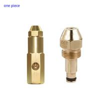 Paliwa dysza olejowa oleju dysza palnika palnik na olej przepracowany dysza powietrza rozpylacz olej w sprayu dyszy mosiądz dysza paliwa dysza palnika tanie tanio Safety Standardowy