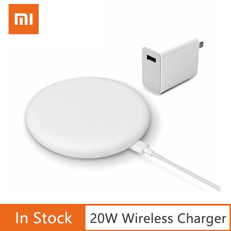 Оригинальное Беспроводное зарядное устройство Xiaomi 20 Вт Max для Mi 9 (20 Вт) MIX 2S / 3 (10 Вт) Qi EPP совместимый мобильный телефон (5 Вт) многократная безо...