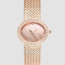 GUOU Top Luxury Brand Diamond Women Jewelry Watches Vintage