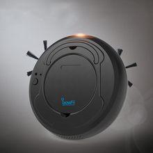 1800Pa Ricaricabile Robot Aspirapolvere 3in1 Spazzata Wet & Mop Contemporaneamente Run 100 minuti A Basso Rumore Per I Tipi di Piatto pavimento