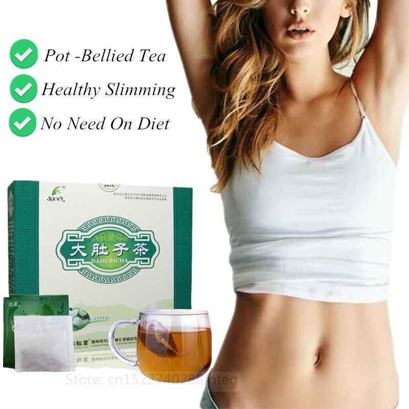 Pot-bellied Tea DETOX Flat Tummy Tea Fat Burner Slimming Product Weight Loss Detox Slimming Tea Teatox Herbal Tea For Men Women