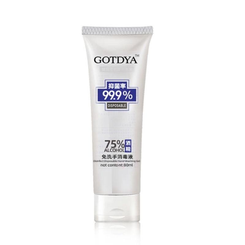 80ml Refreshing Hand Gel Antibacterial Gel Hand Sanitizer Disposable Hand Sanitizer Hand Soap