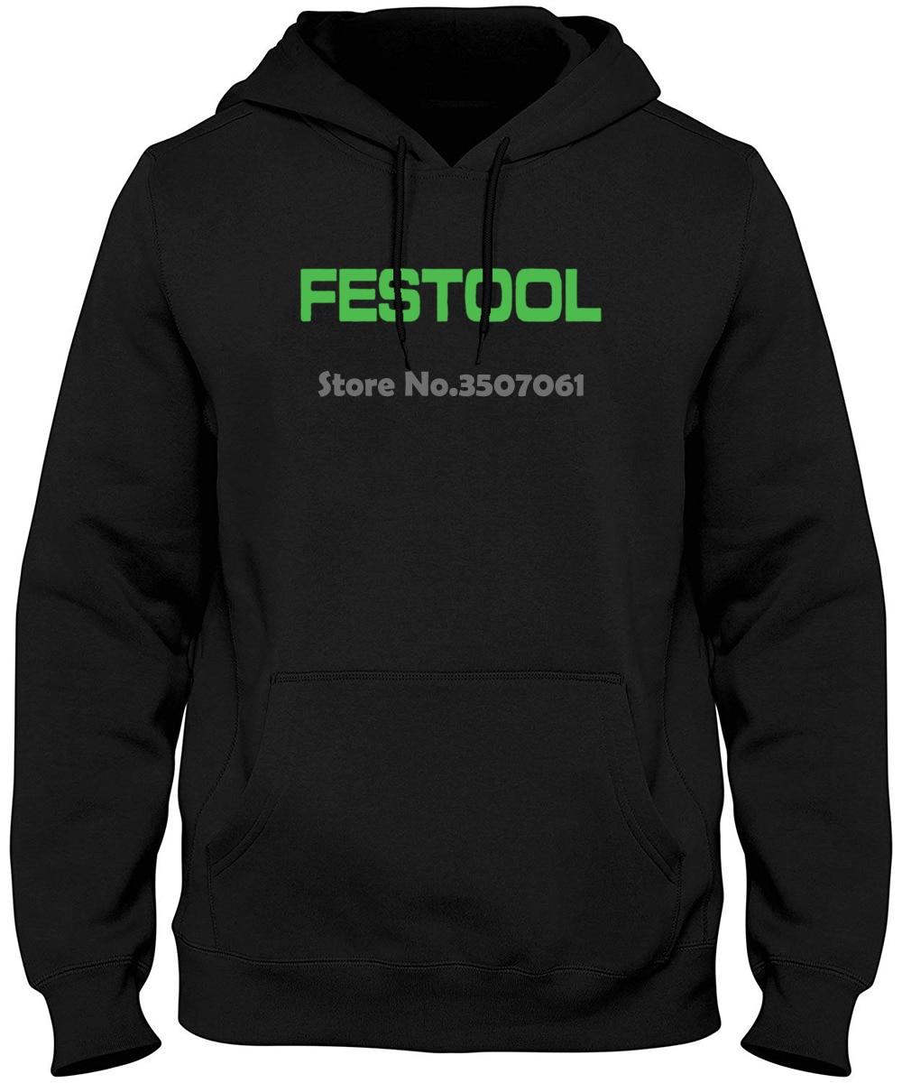 New Festool Tools Logo Men Black Man Clothing Free Shipping TopPrint Youth Summer Winter Hoodies & Sweatshirts