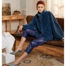 Fursarcar новинка 2020 пальто из натурального меха норки женская