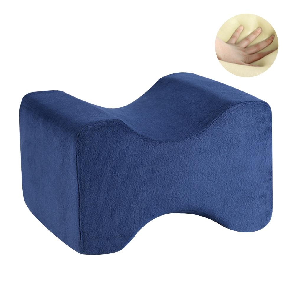 Подушка из пены с эффектом памяти, 3 цвета, Ортопедическая подушка, латексная подушка для шеи, волокно, медленный отскок, мягкая подушка, массажер для шейного отдела, забота о здоровье - Цвет: Navy 26x20.5x15.5cm