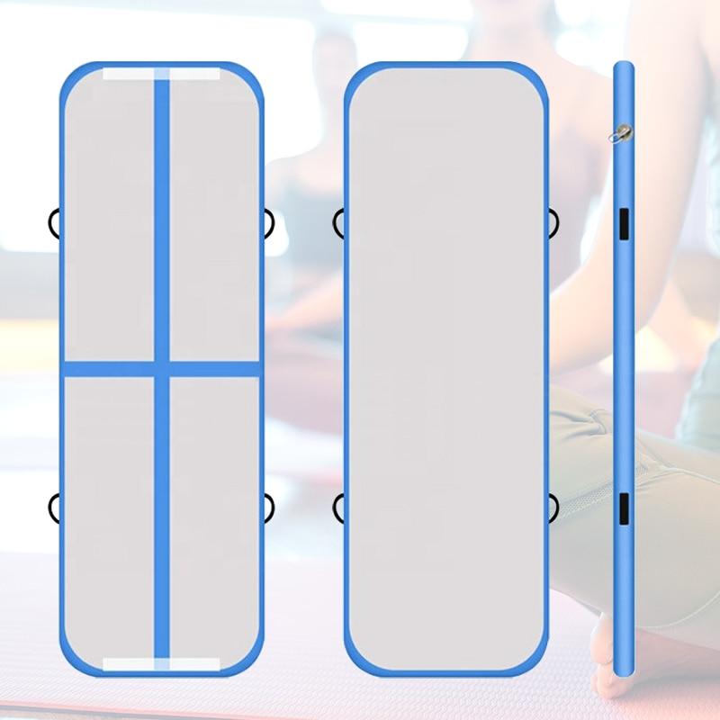 5x1x0.2m Inflatable Track Gymnastics Mattress Gym Tumble Airtrack Floor Yoga Olympics Tumbling Wrestling Yogo Electric Air Pump