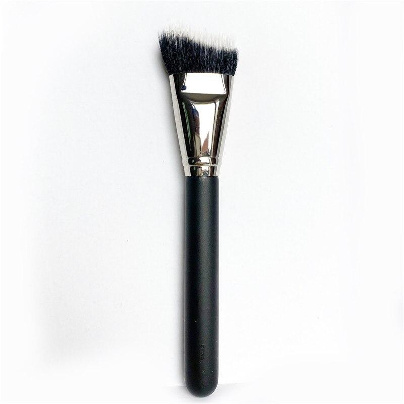 DUO FIBRE CURVED SCULPTING BRUSH 164 - Professional Dual-Fiber Contouring Highlighting Beauty Makeup Brush