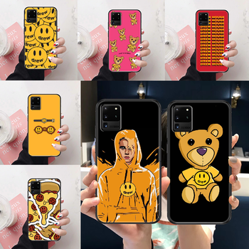 Drew Justin Bieber Phone case For Samsung Galaxy Note 4 8 9 10 20 S3 S5 S8 S9 S10 S20 Plus UITRA Ultra black silicone waterproof image