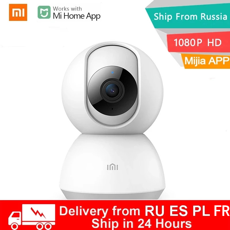 Xiaomi Smart IP Camera Webcam 1080P WiFi Pan tilt Night Vision 360 Angle Video Wireless Baby Security Monitor For Mi Home App