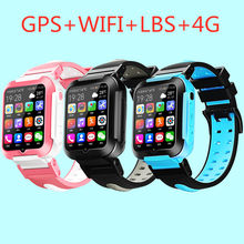 GOLDENSPIKE E7 GPS Phone Positioning Fashion Children Watch 1.54 Inch Color Touch Screen WIFI SOS Smart Watch PK Q80 Q50 Q60 Q90(China)