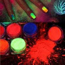 Brilho da arte do prego, pó do prego da sombra, brilho uv verdadeiro brilhante das cores
