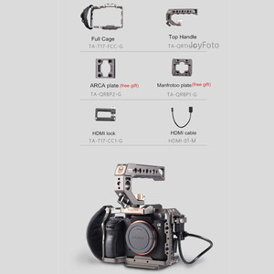 Image 5 - Tilta A7 A9 Rig Kit A7 iii Full Cage TA T17 A G For Sony A7 A9 A7III A7R3 A7M3 Top Handle Baseplate Focus Handle