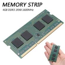 Memory RAM 1.35V Laptop DDR3 4GB PC3L-12800S 1600MHz 204PIN SO-DIMM DDR3 Laptop Memory Strip tigo brand laptop memoria ram ddr3 4gb sodimm memory for notebook 1 35v low power 1600mhz 1333mhz