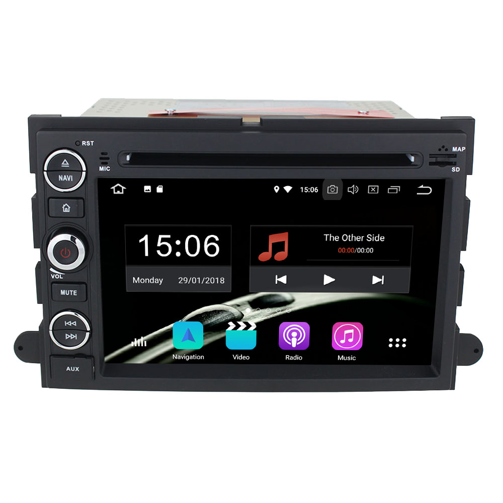 Android 9.0 6 Core 4GB RAM 64GB ROM <font><b>GPS</b></font> Car Radio Player Stereo For <font><b>Ford</b></font> Focus/<font><b>Escape</b></font>/Taurus/Explorer/Edge/Expedition/Mustang image